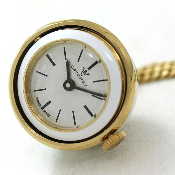 カトレックス ペンダント 時計