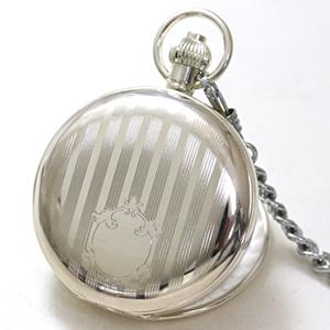 ケース彫刻 懐中時計 カトレックス