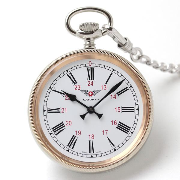 カトレックス オープンフェイス懐中時計 1834.1