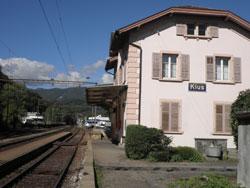 スイス klus(クルス)駅