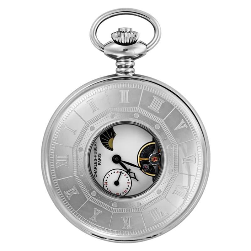 ナポレオンスタイルの機械式懐中時計。