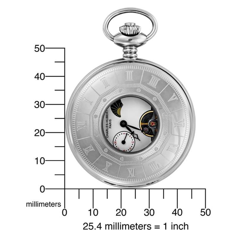 懐中時計の大きさ