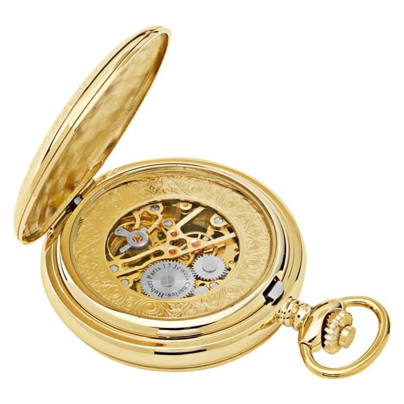 装飾があり高級感あふれる懐中時計
