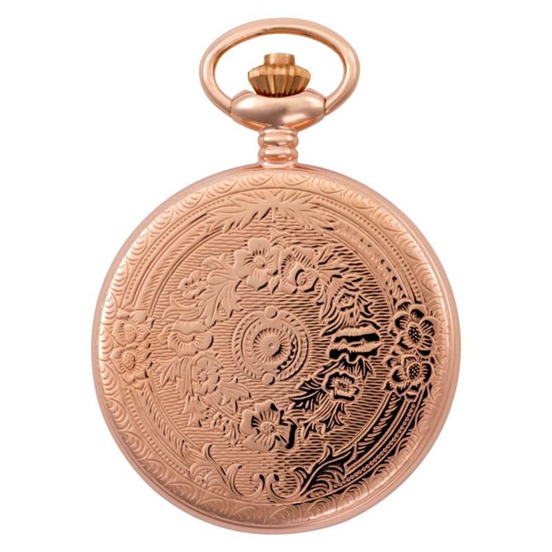 装飾が美しい懐中時計