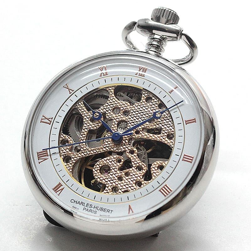 小さめの懐中時計 女性にも使いやすい