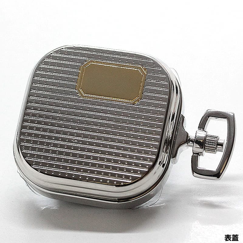 電池が切れない限り、置いておいても止まらない便利なクォーツ式時計。