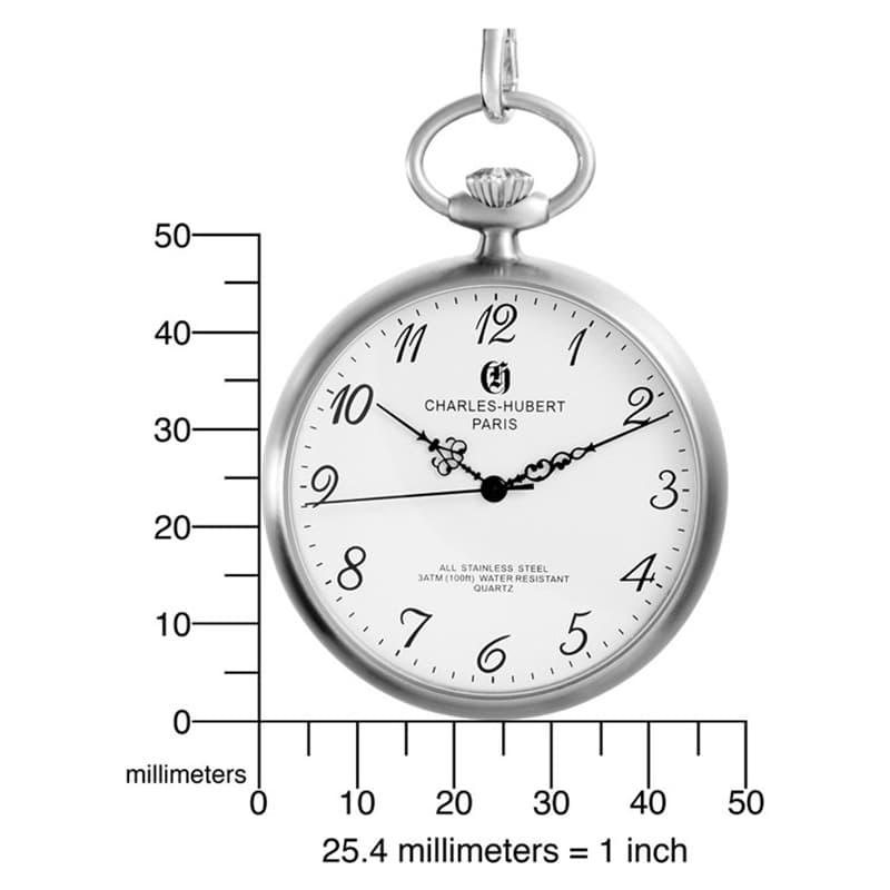 クォーツ式 時計 懐中時計
