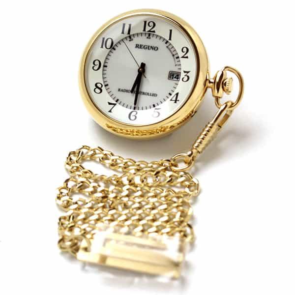 シチズン kl791411 KL7-922-31 ゴールドカラー 懐中時計 ソーラー電波