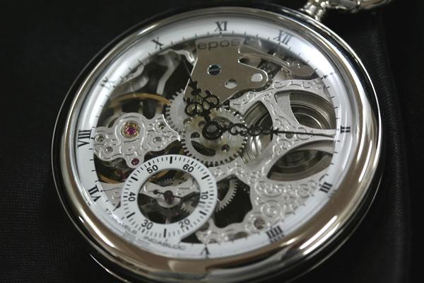 エポスepos懐中時計