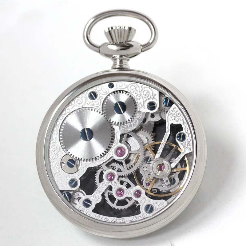 EPOS(エポス) フルスケルトン懐中時計 2003abk 裏