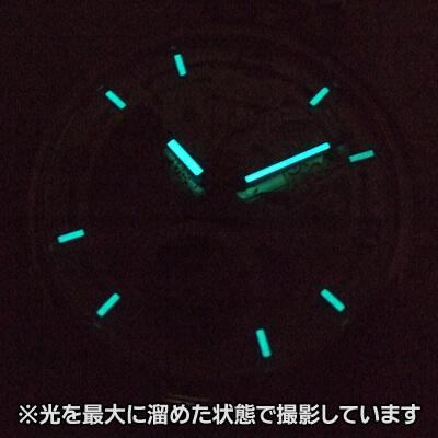 EPOS(エポス) フルスケルトン懐中時計 2003abk 蓄光画像