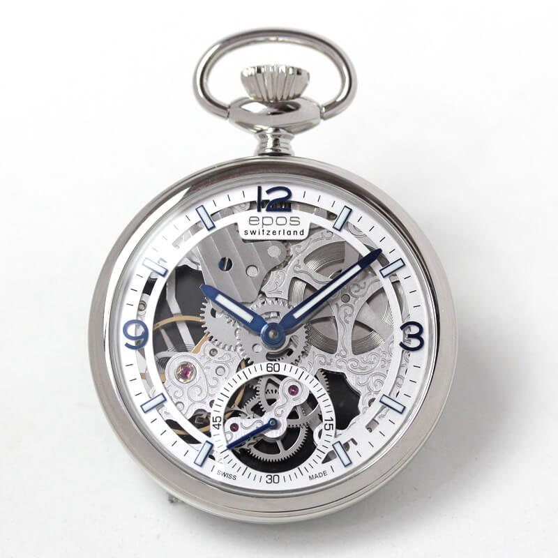 EPOS(エポス) フルスケルトン懐中時計 2003asl 表