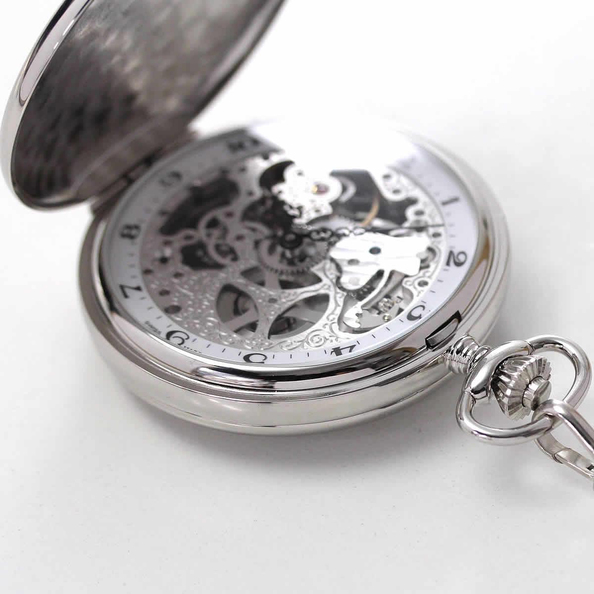 記念品などの贈り物に人気の懐中時計