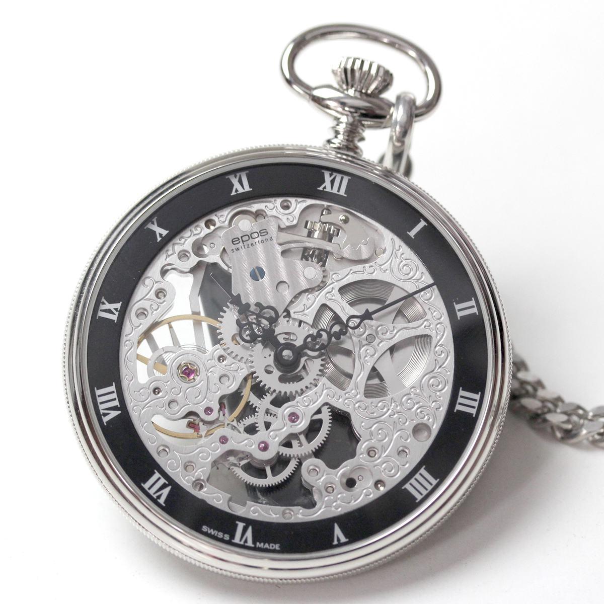 epos エポス懐中時計 フルスケルトン 2089
