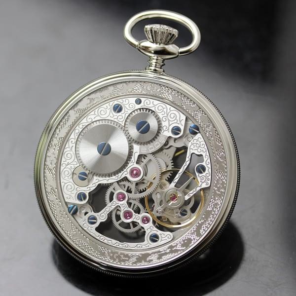 スイスブランドEPOS スケルトン 時計
