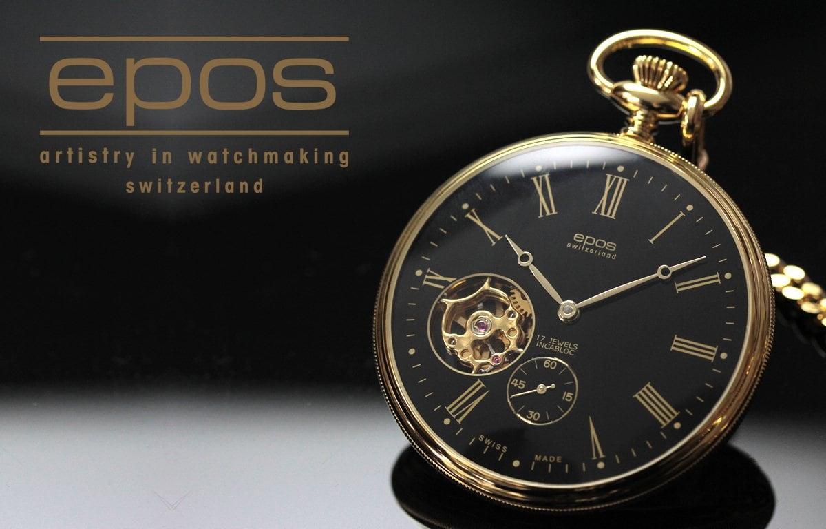 エポス懐中時計 2090GPBK