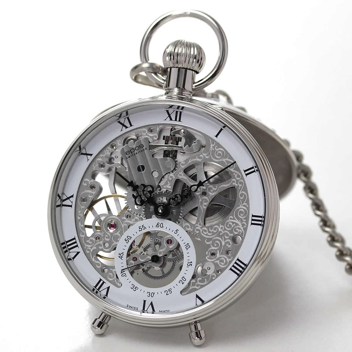 epos エポス 懐中時計 表面