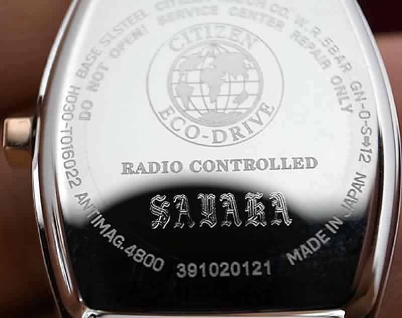 時計ドイツ花文字刻印サンプル1