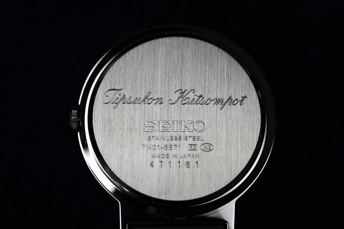 時計 文字 刻印