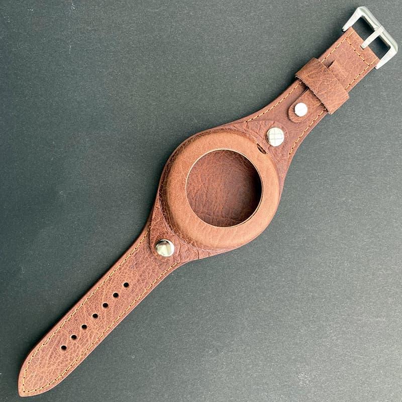 正美堂オリジナル 懐中時計専用レザーベルト