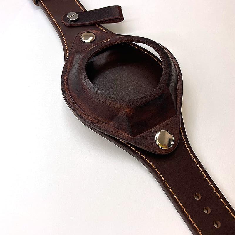 レザーベルト 懐中時計用