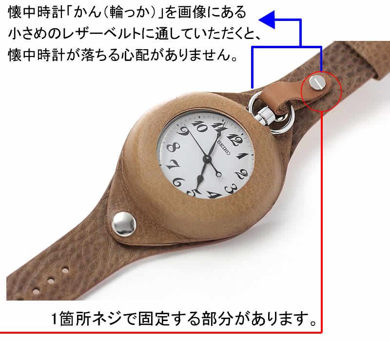 懐中時計の使い方 ホック