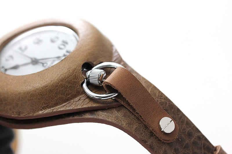 懐中時計の使い方 固定