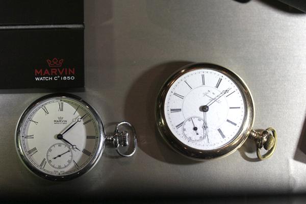 マーヴィンオリジナル懐中時計