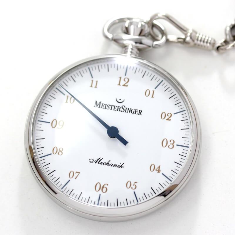 懐中時計 一本針 マイスタージンガーtm2010a