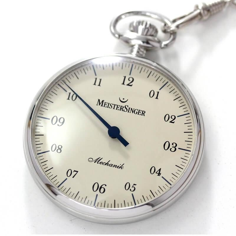 懐中時計 一本針 マイスタージンガーtm2010b