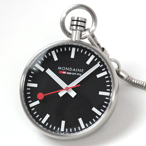 a6603031614sbb mondaine モンディーン懐中時計 ブラック