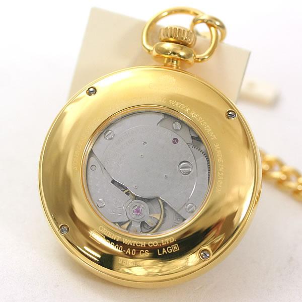 手巻き式オリエント懐中時計