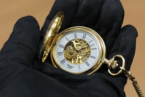 ティソ オープンフェイス懐中時計