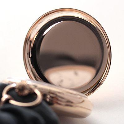 rapport(ラポート) 懐中時計 スモールセコンド 両蓋 手巻き式懐中時計 pw12 蓋の内側 ゴールドカラー 鏡面仕上げ
