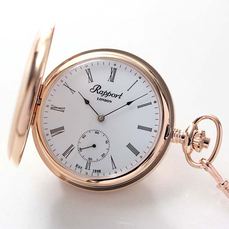 rapport(ラポート) 懐中時計 スモールセコンド 両蓋 手巻き式懐中時計 pw12 2018年新作
