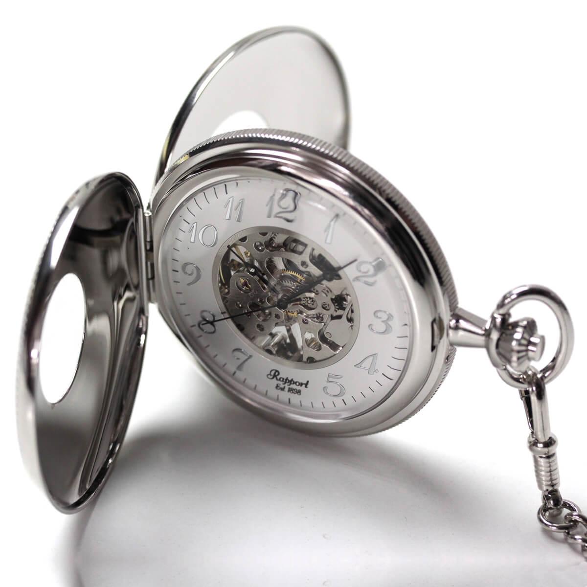 pw47 ラポート 両蓋開き懐中時計