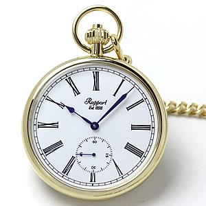 ラポート懐中時計 ゴールドカラー