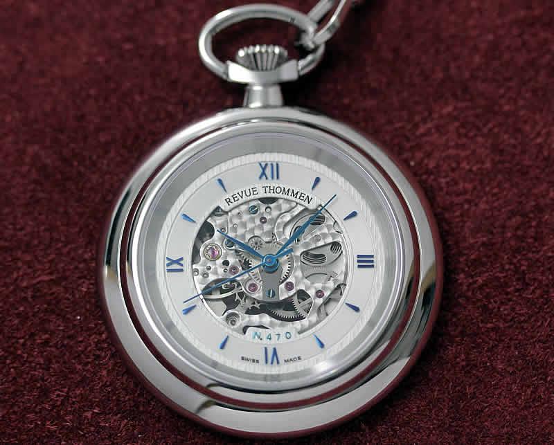レビュートーメン(REVUE THOMMEN) 懐中時計