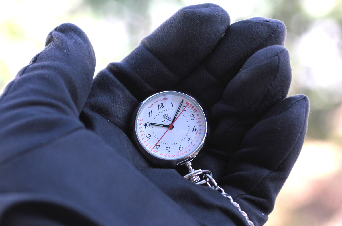 ROYAL LONDON(ロイヤルロンドン) クォーツ懐中時計 ナースウォッチ 21019-01