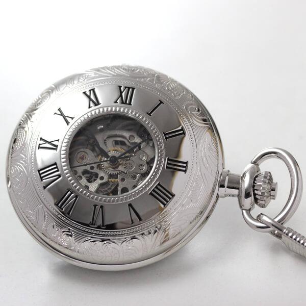 ROYAL LONDON ロイヤルロンドン 懐中時計 90009-02 蓋を閉じたイメージ