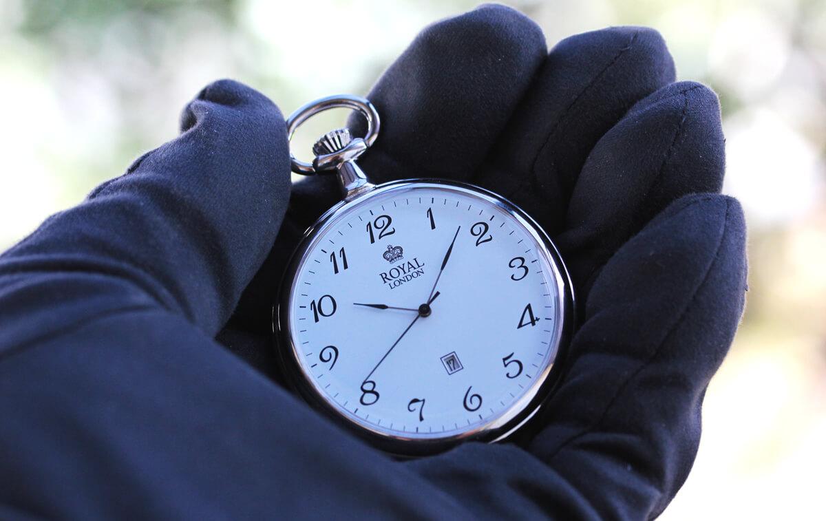 ROYAL LONDON(ロイヤルロンドン) クォーツ懐中時計 90015-01