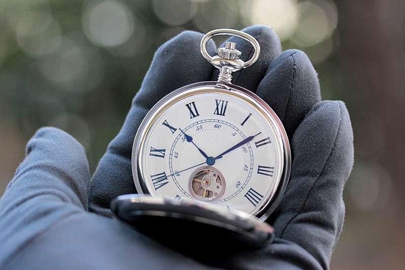 ROYAL LONDON(ロイヤルロンドン) 懐中時計 オープンハート 90051-01