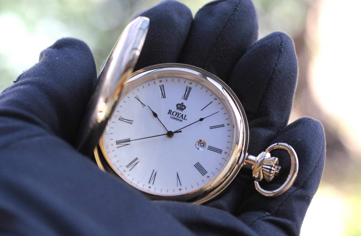 ROYAL LONDON(ロイヤルロンドン) クォーツ懐中時計 90001-02