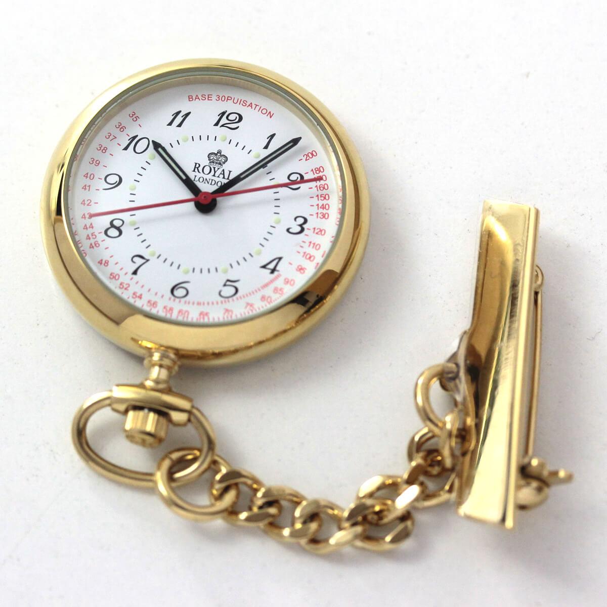 ROYAL LONDON(ロイヤルロンドン) クォーツ懐中時計 ナースウォッチ 21019-02