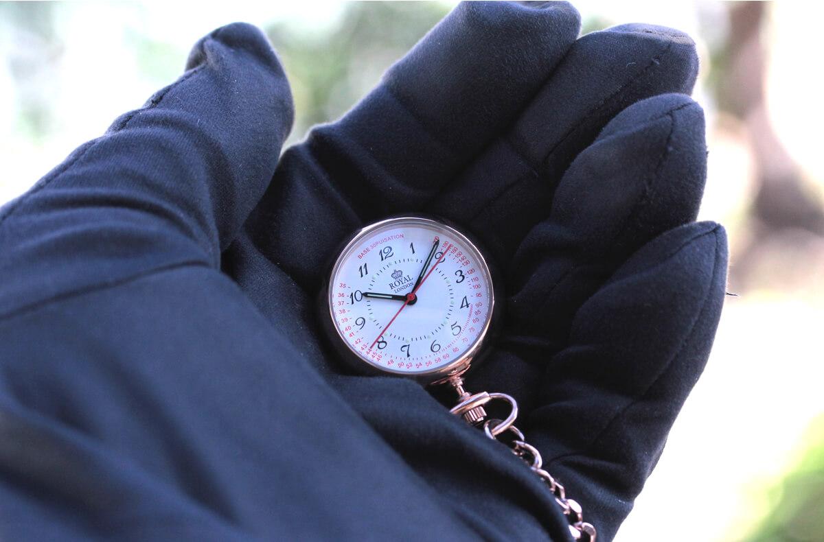 ROYAL LONDON(ロイヤルロンドン) クォーツ懐中時計 ナースウォッチ 21019-03