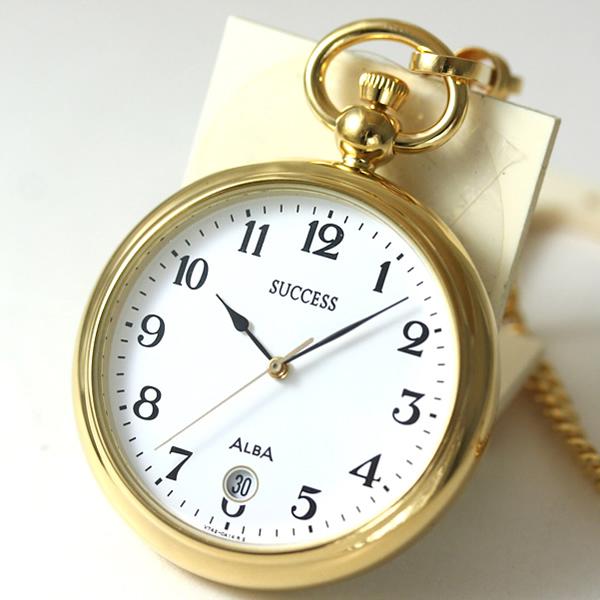 セイコーALBA懐中時計AABU004