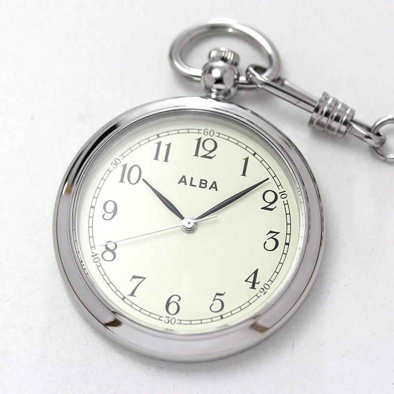 セイコーALBA懐中時計aqgk445