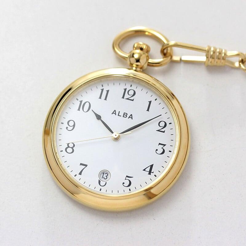 セイコーALBA懐中時計aqgk446