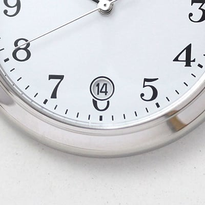 セイコーアルバ 6時方向には便利な日付表示