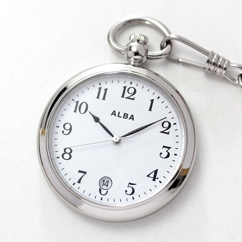 セイコーALBA懐中時計aqgk447